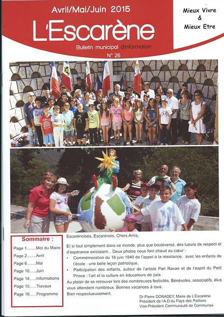 L'Escarène April-May-June 2015