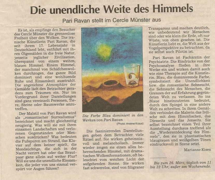 Luxemburger Wort Marianne Eisen - 2001