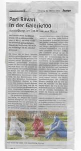 Zeitungs artikel Affoltern _Zürich 1